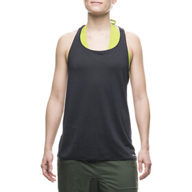 Houdini W's Rock Steady Singlet Rock Black